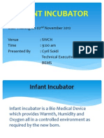 Infant Incubator Use Training by Cyril 2.11.12