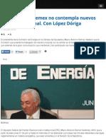 21.07.14 Ajuste fiscal a Pemex no contempla nuevos impuestos