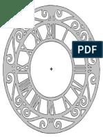 Overlay Clock Pattern