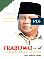 Prabowo Untuk Indonesia Raya