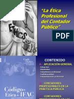 La Ética Profesional Del C P Códigos de É Tica