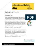 Work Permit Safety