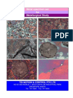 Microstructure of Metal Materials