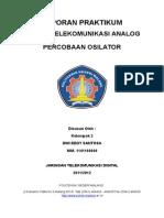 Dwi Eddy Santosa-Laporan Praktikum OSILATOR