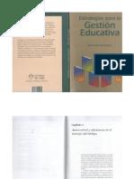 Estrategias Para Gestión Educativa