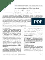 Production of Malto-Dextrin From Broken Rice