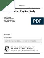 Teleportation Physics Study (Eric W. Davis)