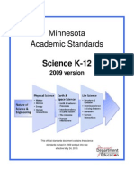 science standards 2009