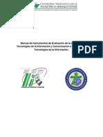 Manual de Instrumentos de Evaluación de La Carrera de Tic
