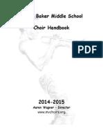 choir handbook 2014-2015