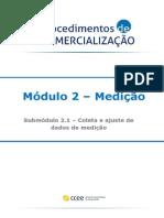 2.1 - Coleta e Ajuste Dos Dados de Medição
