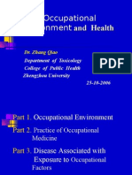 03.Occupational Environment and  Health