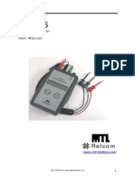 501-338 FBT-6 User Manual