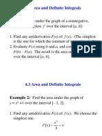 Integrals - Math148