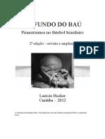 Livro de Futebol de Fundo Do Bau