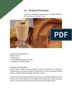 Receta%Manjar Blanco&Alfajores