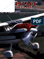 Vintage Airplane - Oct 1990