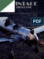 Vintage Airplane - Jul 1990