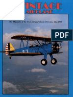 Vintage Airplane - May 1990