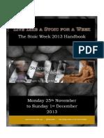 Stoic Week 2013 Handbook
