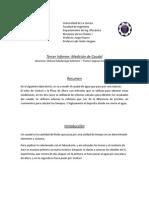 Informe Medicion Caudal