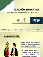 Comunicación Efectiva, Tipos, Asertividad y Manejo de Conflictos