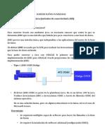 Informe Conectividad Base Datos Java