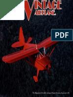 Vintage Airplane - Sep 1991
