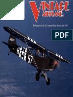 Vintage Airplane - Jul 1991