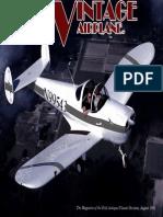 Vintage Airplane - Aug 1991