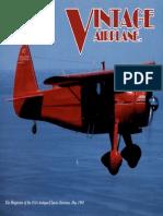 Vintage Airplane - May 1991