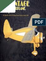 Vintage Airplane - Jan 1991
