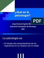 Que Es La Psicologia