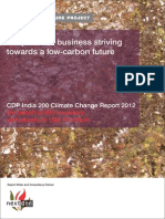 Cdp India 200 Climate Change Report 2012
