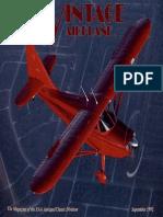 Vintage Airplane - Sep 1992