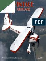 Vintage Airplane - Aug 1992