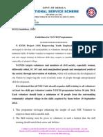 NEYES Guidelines 2014 - 15
