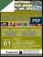 Curso Reiki Andino Lima 2014