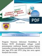 Proposal Pameran Kerjaya 2014