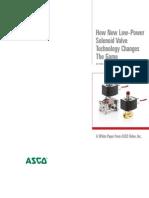 Asco Lowpowersolenoid White Paper0810