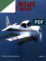 Vintage Airplane - Jan 1992