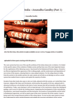 Caste Question in India