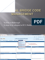 Bridge Code Management