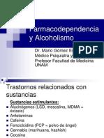 Farmacodependencia y Alcoholismo