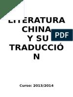 Apuntes Cultura China