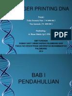 PPT Finger Printing DNA Forensik