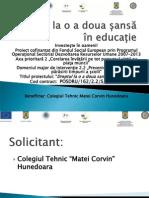 Prezentare proiect POSDRU/162/2.2/S/139573