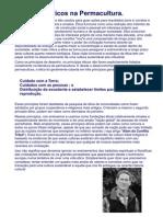 Principios éticos da permacultura