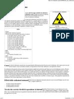 Malattia Da Radiazione - Wikipedia
