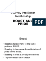 Journey Into Better Relationship - Pride